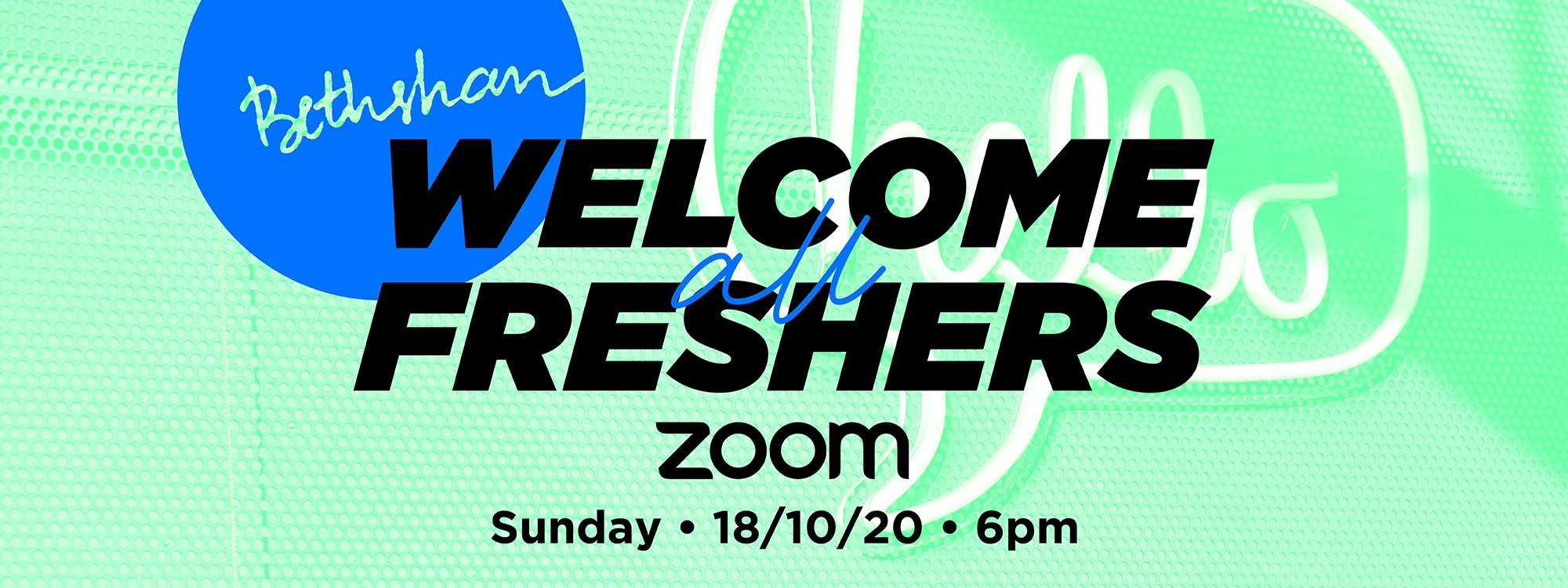 01 - Welcome-Freshers-Zoom